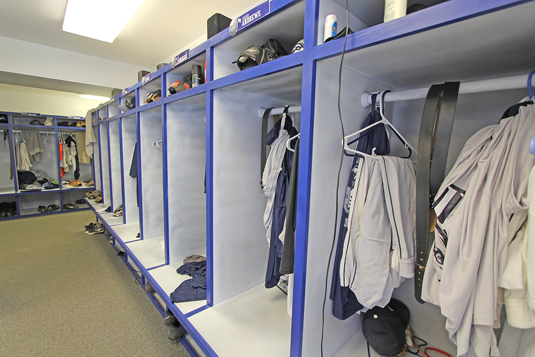 UNF Baseball Locker Room