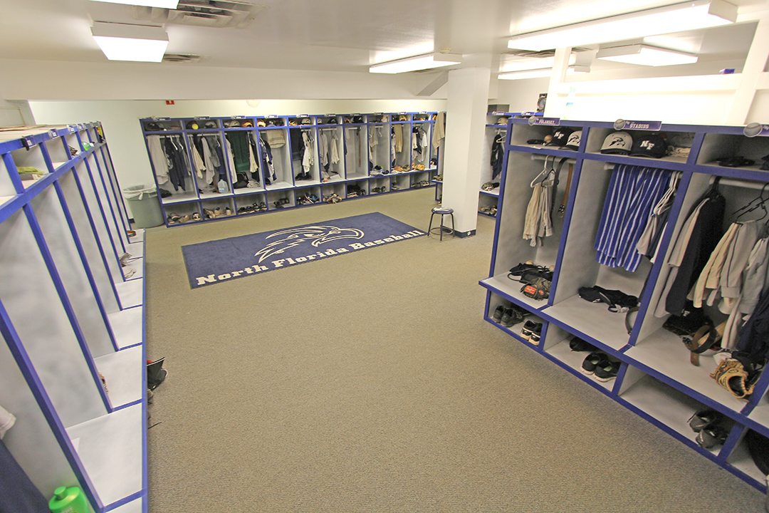 UNF Baseball Locker Room 001 002 003